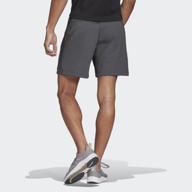 Men Training Grey adidas Designed To Move Motion AEROREADY Shorts