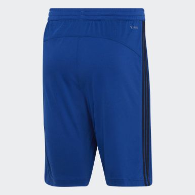 Men's Essentials Blue Design 2 Move Climacool 3-Stripes Shorts