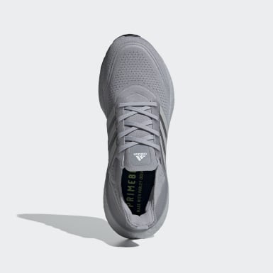 Men Running Grey Ultraboost 21 Shoes