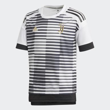 белый Домашняя предматчевая футболка Ювентус