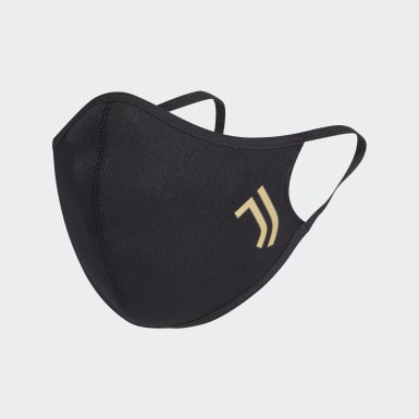 Conjunto de 3 Coberturas para Rosto Juventus – Tamanho XS/S Preto Athletics