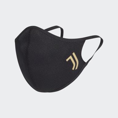 Juventus Face Cover XS/S, pakke med 3 Svart