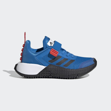 Children Running Blue adidas x LEGO® Sport Shoes