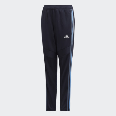 Kids 4-8 Years Football Blue Tiro 19 Training Tracksuit Bottoms