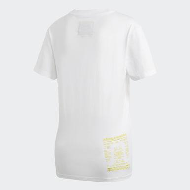 Kadın Originals Beyaz Kaval Tişört