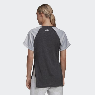 Women's Athletics Black Glam On AEROREADY Tee