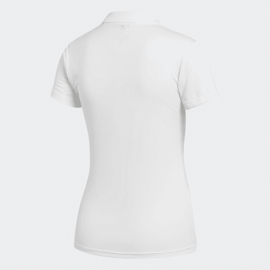 Kadın Tenis Beyaz Club Polo Tişört