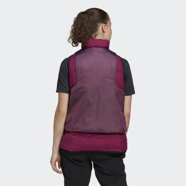 Dames City Outdoor Bordeaux COLD.RDY Donsbodywarmer