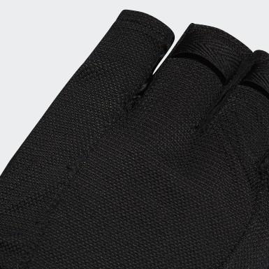 Běh černá Rukavice Versatile Climalite