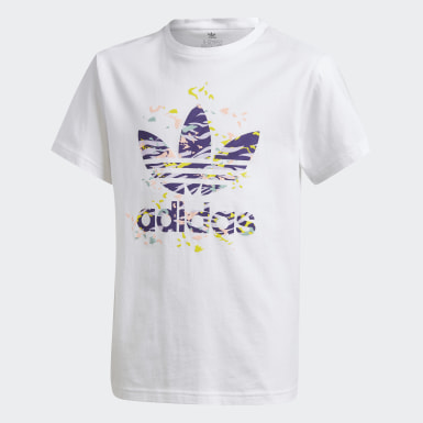Girls Originals Hvid T-shirt