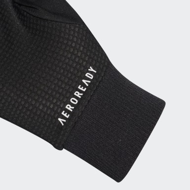 Hardlopen Zwart AEROREADY Running Handschoenen