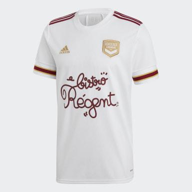 Camiseta segunda equipación FC Girondins de Burdeos 20/21 Blanco Niño Fútbol