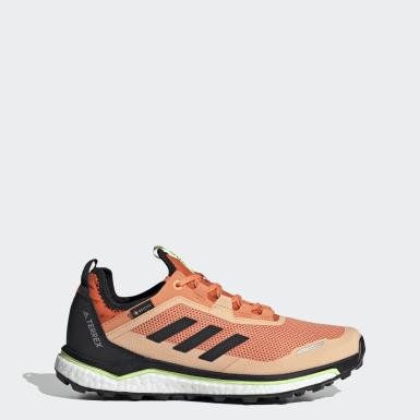 Sapatos de Trail Running Agravic Flow GORE-TEX TERREX Vermelho Mulher TERREX