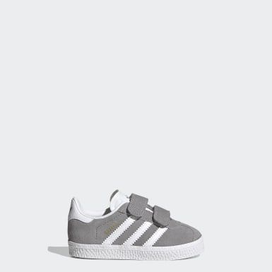 Toddlers 1-4 Years Originals Grey Gazelle Shoes