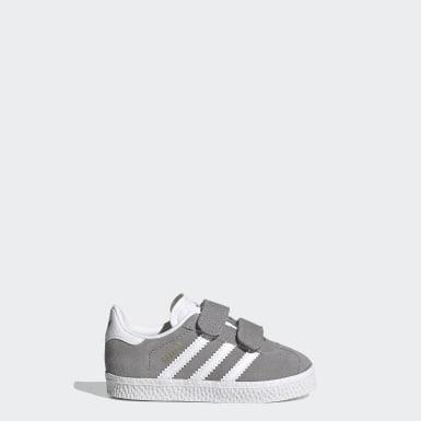 Sapatos Gazelle Cinzento Criança Originals