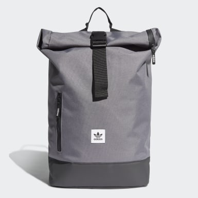 Mochila Premium Essentials Roll-Top (UNISEX) Gris Originals