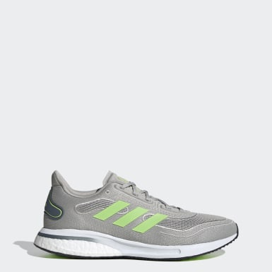 Men Running Grey Supernova Shoes
