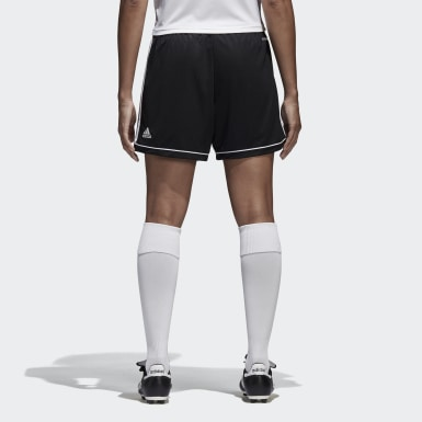 Women's Soccer Black Squadra 17 Shorts