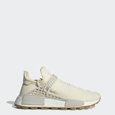 Scarpe Pharrell Williams Hu NMD Beige Uomo Originals