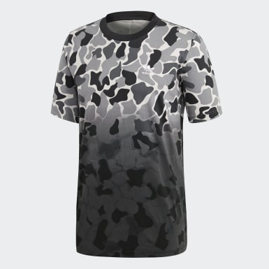 Men Originals Multicolor Camouflage Dip-Dyed Tee