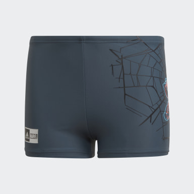 Boys Simning Blå Boys Marvel Spider-Man Swim Briefs