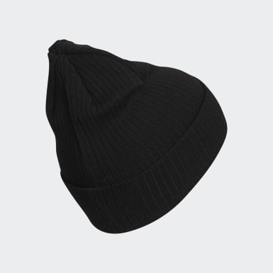 Women Originals Black Recycled Rib Beanie