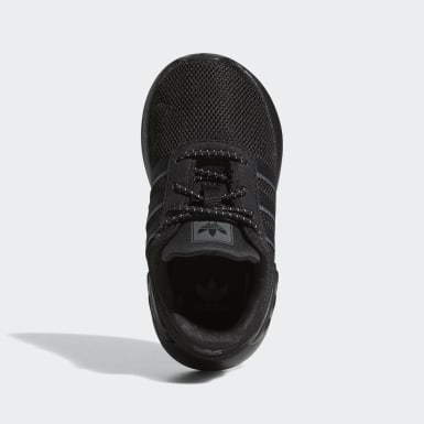 Kids Originals Black LA Trainer Lite Shoes