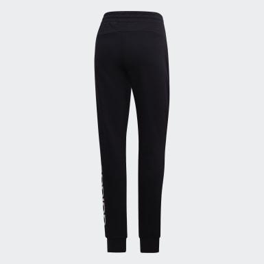 Ženy Athletics černá Kalhoty Essentials Linear