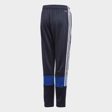 Calças AEROREADY 3-Stripes Must Haves Azul Rapazes Treino