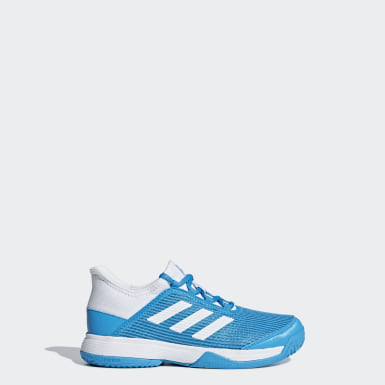 Children Tennis Turquoise Adizero Club Shoes