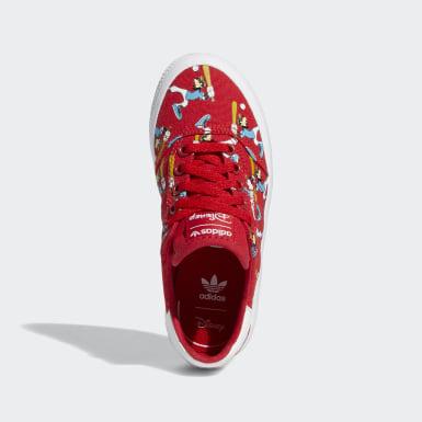 เด็ก Originals สีแดง รองเท้า 3MC x Disney Sport Goofy