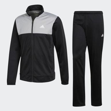 Conjunto Chaqueta y Pantalón Back 2 Basics Negro Hombre Athletics