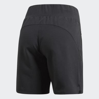 Ženy HIIT čierna Šortky Knee-Length