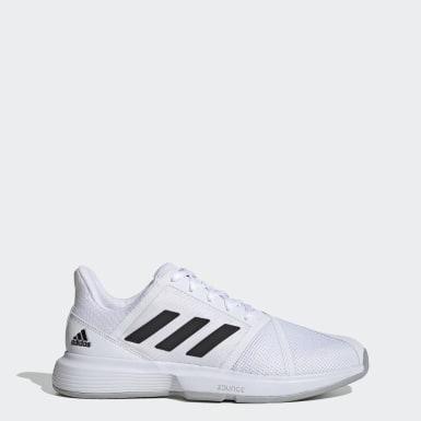 Erkek Tenis Beyaz CourtJam Bounce Ayakkabı