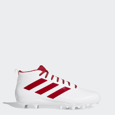 Men's Football White Freak Ghost Cleats