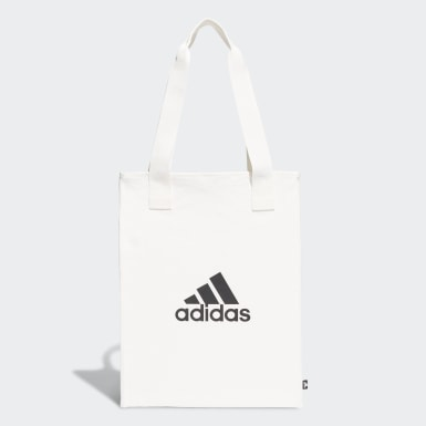 Lifestyle White Canvas Shopper