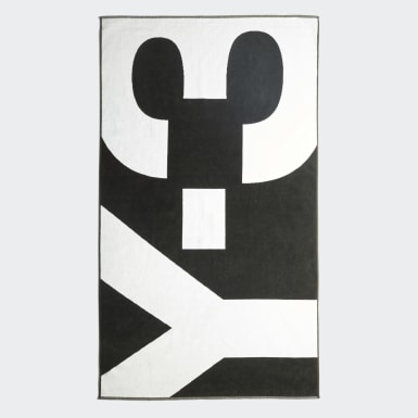 Y-3 Black Y-3 Big Towel