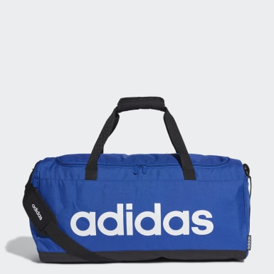 Lifestyle Blue Linear Duffel Bag