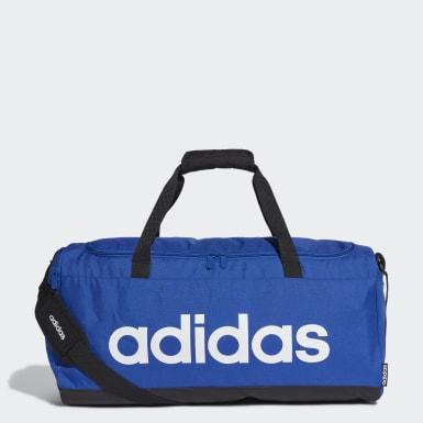 Lifestyle Blue Linear Duffel Bag