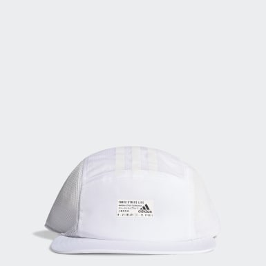 Gorra Power Cinco Paneles Blanco Training