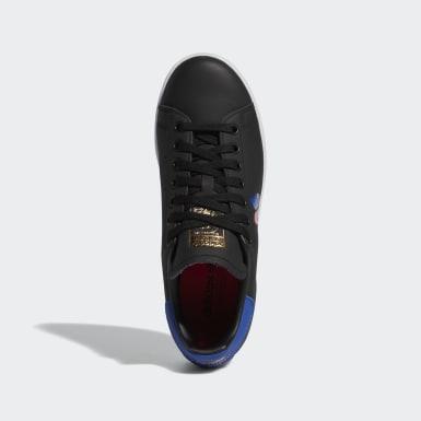 Women Originals Black Stan Smith Shoes