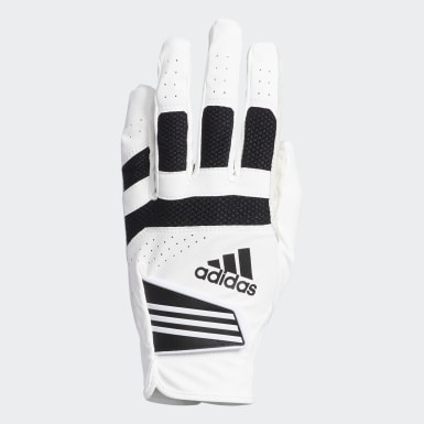 Men Golf White Powergrip Glove