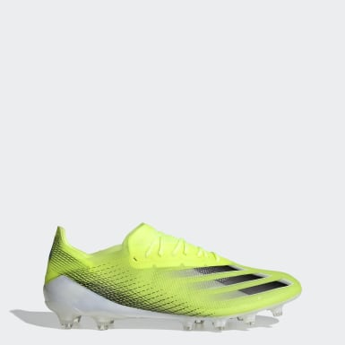 Voetbal Geel X Ghosted.1 Artificial Grass Voetbalschoenen