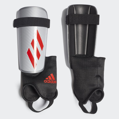 Protège-tibias X Club argent Soccer