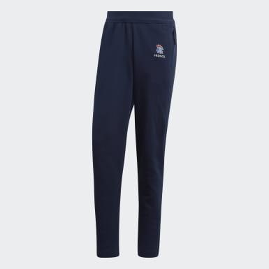 Pantaloni da rappresentanza French Handball Federation Blu Pallamano