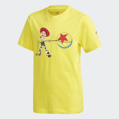 Youth Basketball Yellow Jessie x Luxo Basketball Toy Story Tee