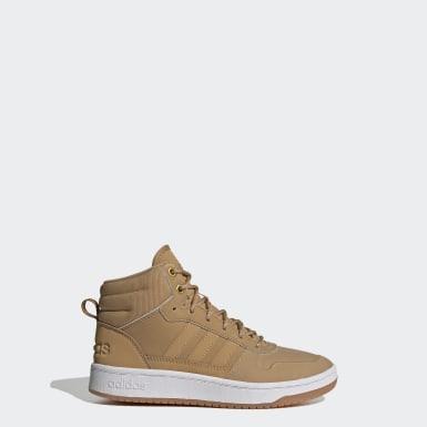 Børn Basketball Brun Blizzare sko