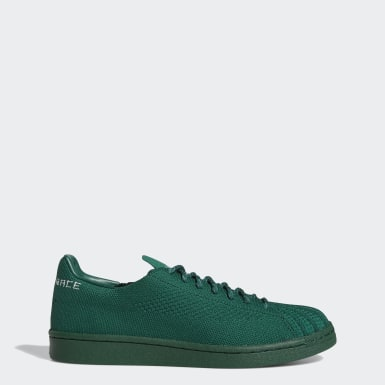 Originals Green Pharrell Williams Superstar Primeknit Shoes
