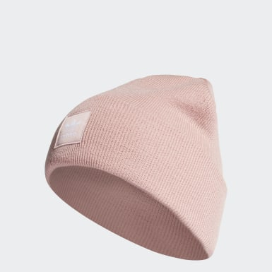 Gorro Cuff Adicolor Rosa Originals