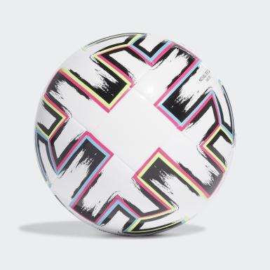 Børn Fodbold Hvid Uniforia League J350 bold